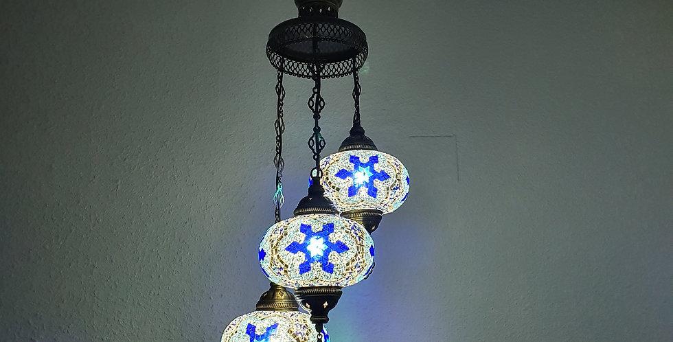 Lámpara turca de techo - globos de 18 cm