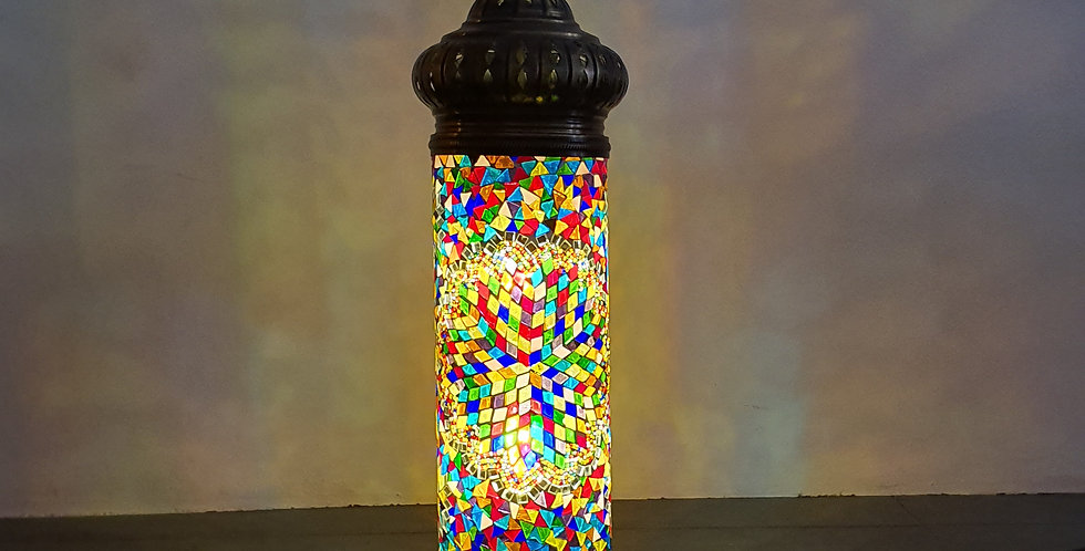 Lámpara turca cilindro
