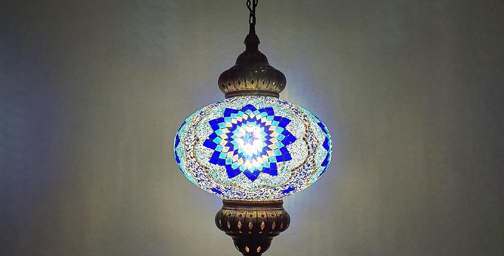 Lámpara turca de techo con globo de 30 cm