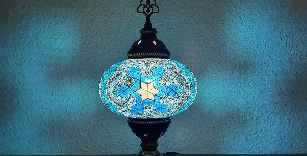 Lámpara turca de mesa, globo 16 cm
