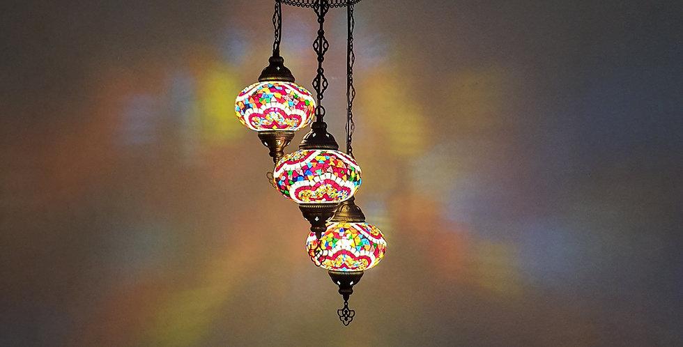 Lámpara turca de techo - globos de 16 cm