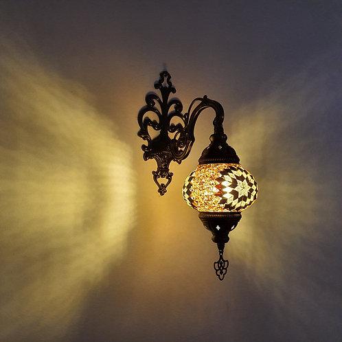 Lámpara árabe de pared tamaño 2