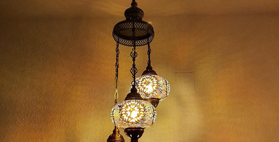 Lámpara turca de techo -  globos de 17 cm