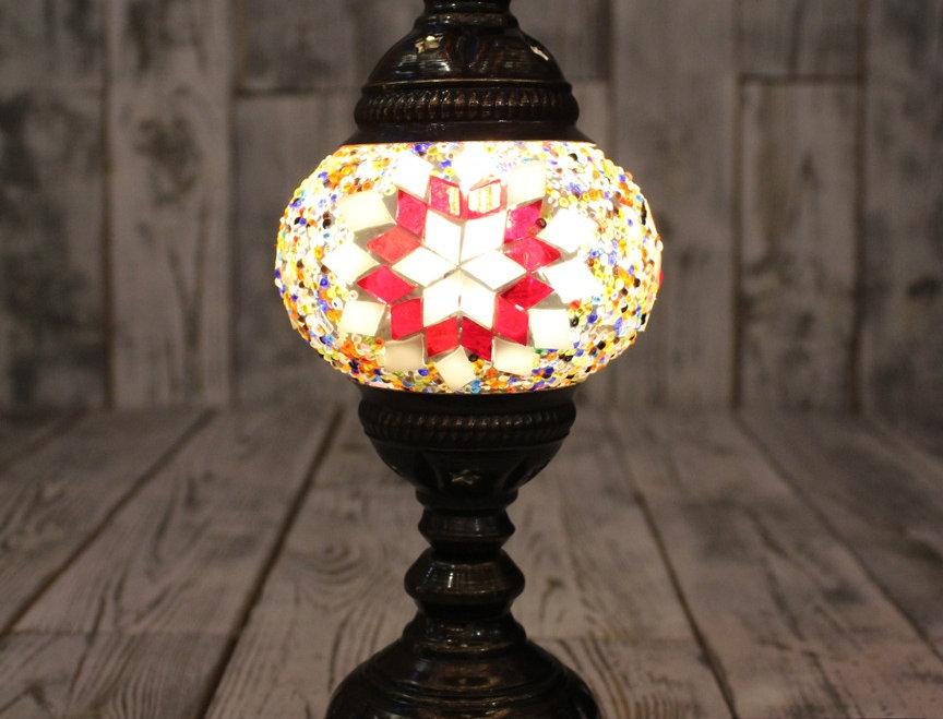 Lámpara turca de mesa tamaño 1