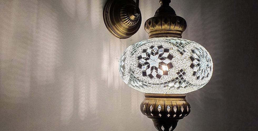Lámpara turca de pared, globo 24 cm