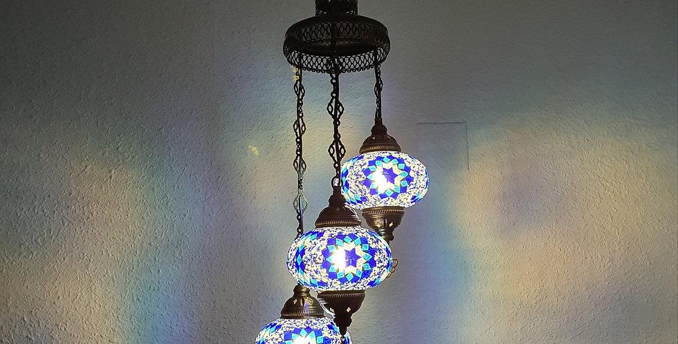 Lámpara turca - globos de 16cm