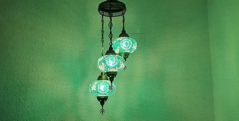 Lámpara turca techo - globos de 17 cm