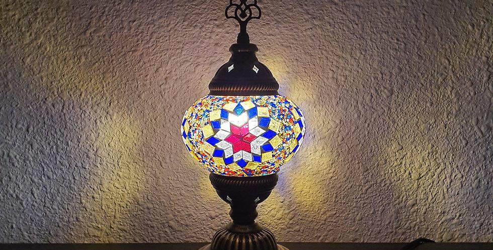 Lámpara turca de mesa - diámetro 13cm