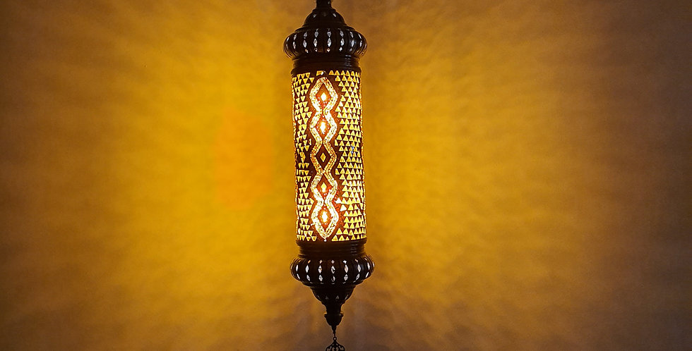 Lámpara turca colgante cilindro