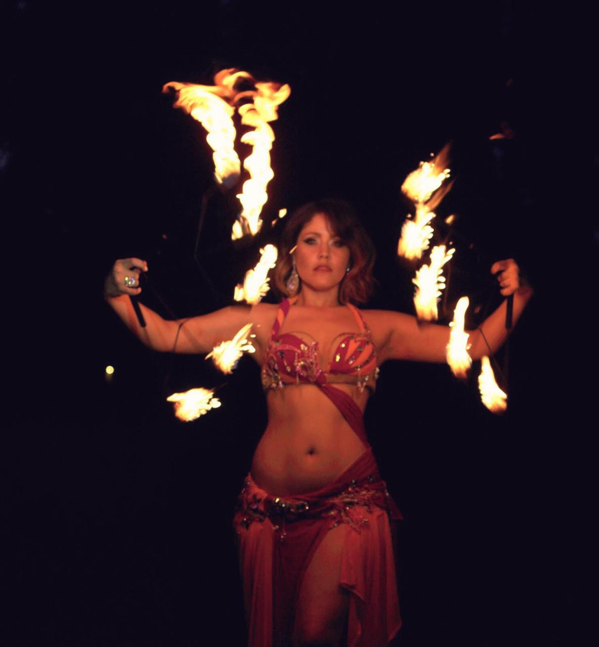 Amy Fire Dance