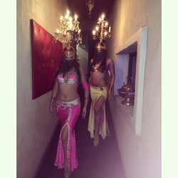 Belly Dancers Shamadan Dance