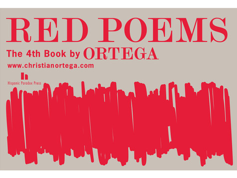 RED POEMS - the 4th book by ORTEGA