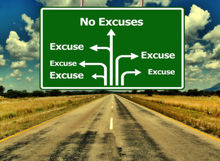 No Excuses in Ministry