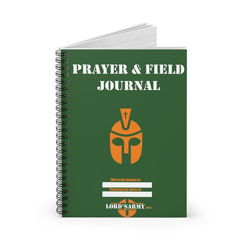 Lord's Army Prayer and Field Journal