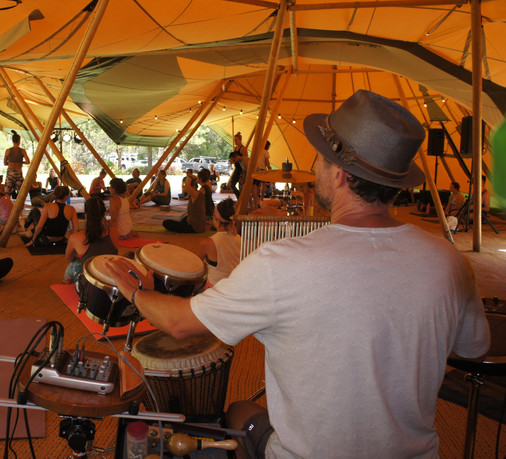 Gareth Jones Live percussion