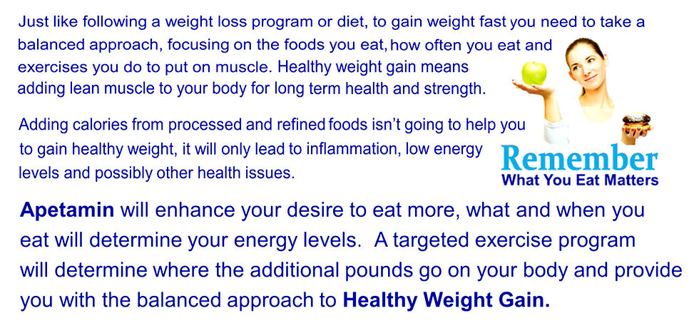 GAIN WEIGHT FAST FREE SHIPPING