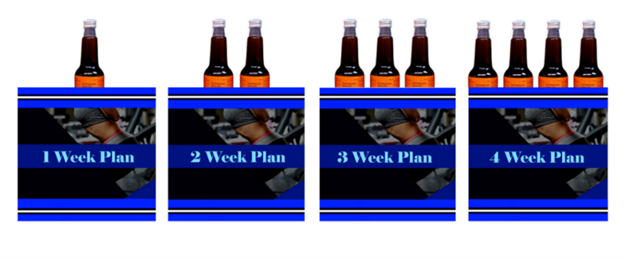 1 WEEK PLAN 2 WEEK PLAN 3 WEEK PLAN 4 WEEK PLAN