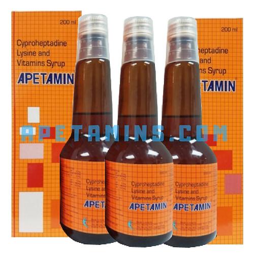 3 WEEK PLAN Apetamin Syrups