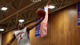 Men's Basketball Team Eliminated in Semifinals