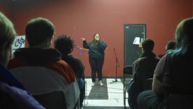 Mia Sanchez Takes Centerstage