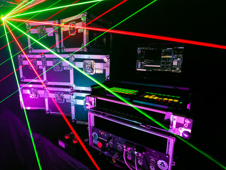 Laser Show Upgrade - Phase Two Complete (Updated 05/06/2020)