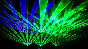 Music Video with Lasers