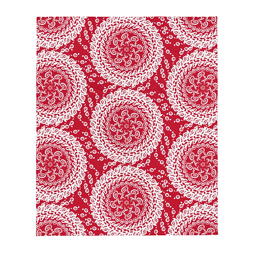 Design, iquinani, throw, red