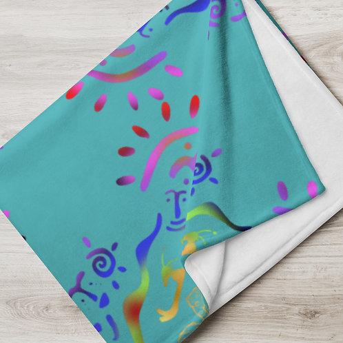 Thrive, iquinani, Throw Blanket
