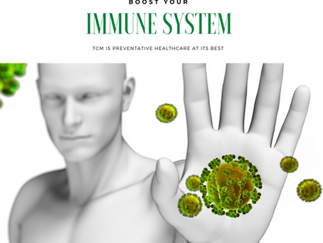Boost your Immune System with TCM