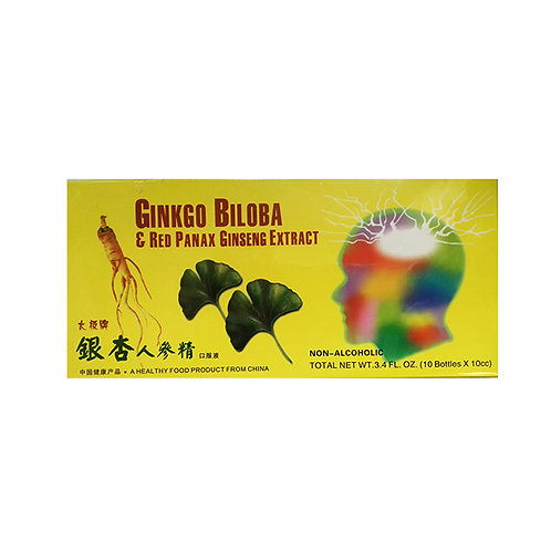 Ginkgo Biloba & Red Panax Ginseng Extract (Temporarily out of stock)