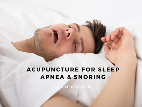 Acupuncture for Snoring and Sleep Apnea