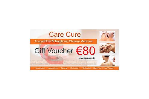 Gift Voucher - €80