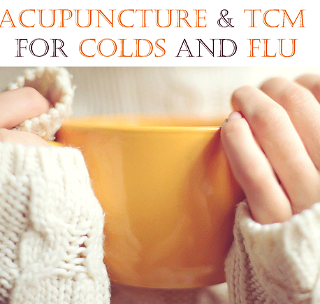 acupuncture for colds and flu