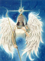 Great Goddess Isis Speaks from the Athena Starship Open your High Heart