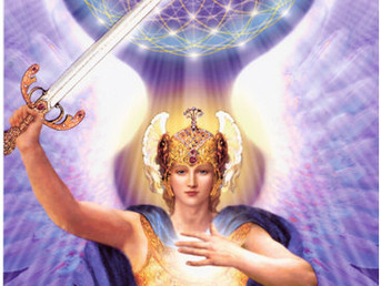 Archangel Michael Speaks from the Athena Lightship- The Legion of Blue In Service to the One Creator
