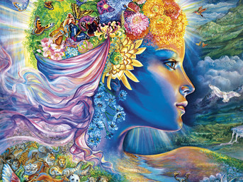 Gaia Speaks from 5 th /6 th Dimensional Gaia- Joyful Reunion, There is No Lack
