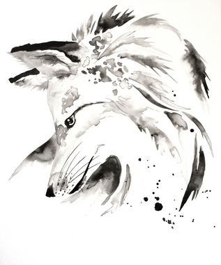 Fox - Ink