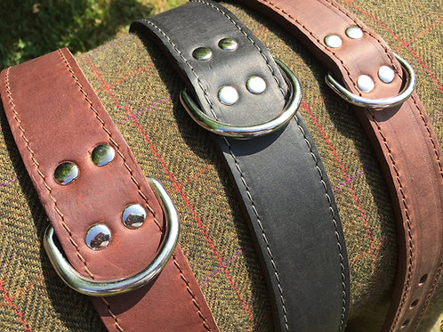 Ox Leather Collar for large breeds