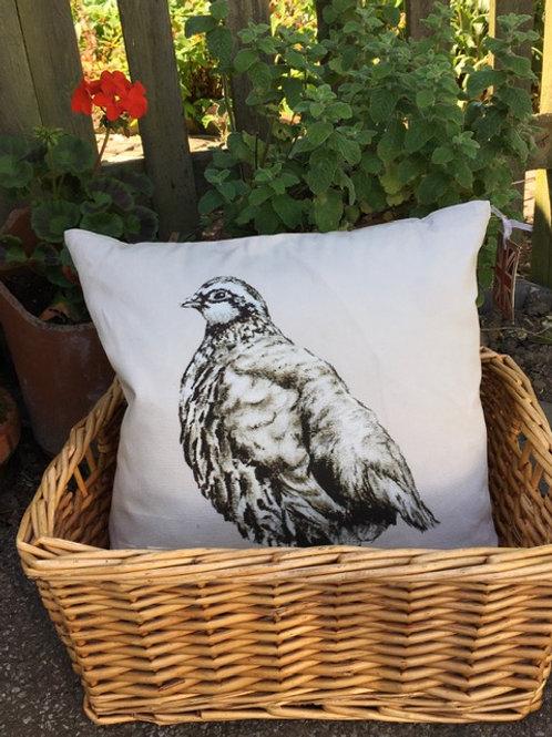 Partridge Cushion