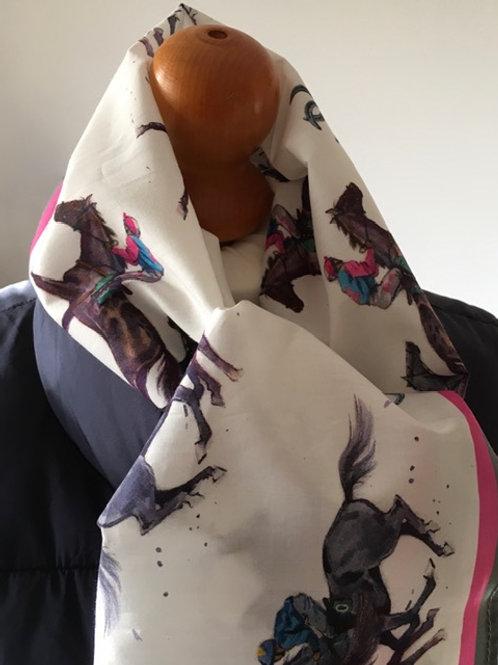 Racing - Cotton scarf