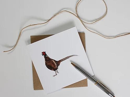 Strutting Pheasant