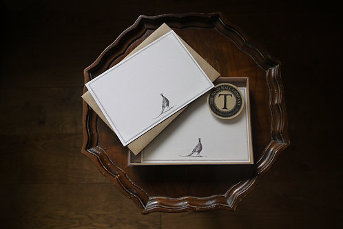 Correspondence card- Pheasant