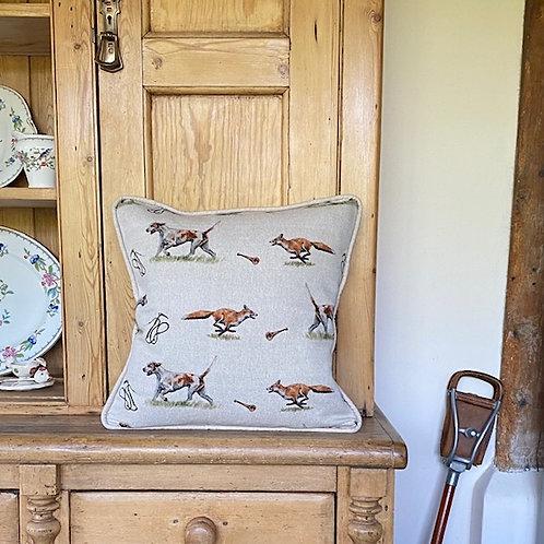 Hound & Fox cushion