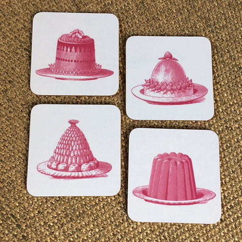 Coasters-Victorian Jelly