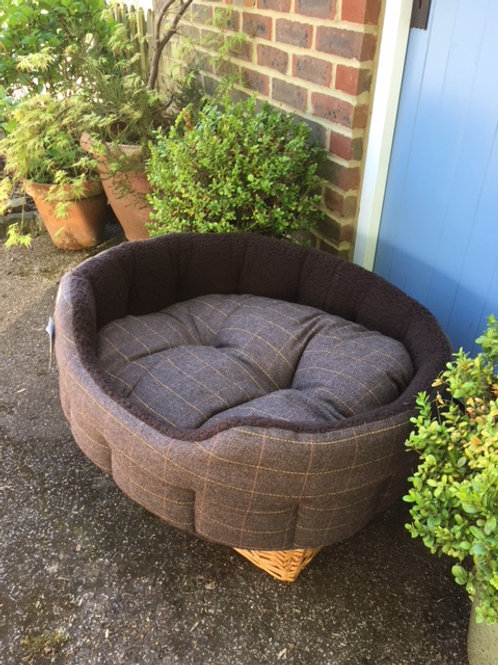 Classic Tweed Large Bed