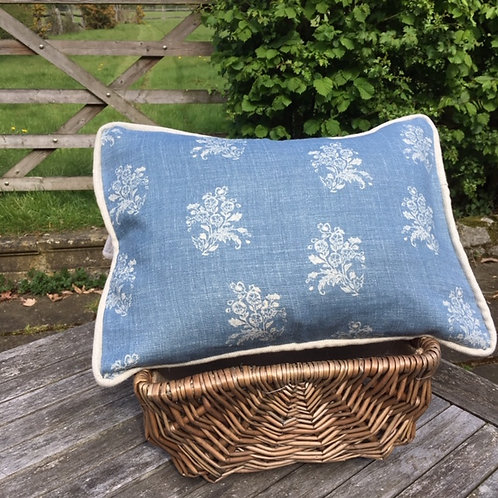 Agnes Blue- Cushion