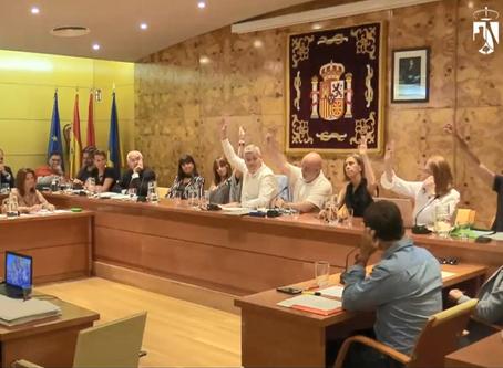 Vecinos por Torrelodones retira sus competencias al Pleno municipal