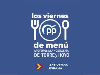 """El Partido Popular lanza su campaña """"Viernes de menú"""" en Torrelodones y Hoyo de Manzanares"""