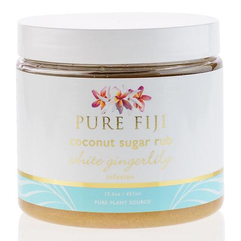 White Gingerlily - Coconut Sugar Rub 457ml