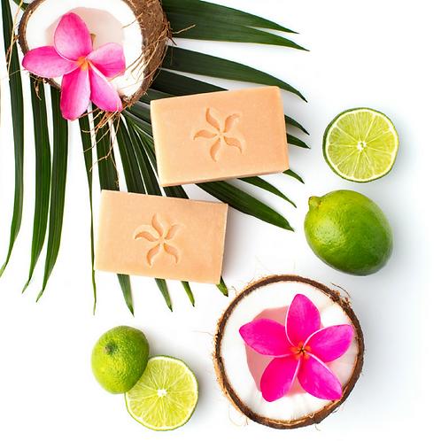 Coconut Lime Blossom - Handmade Coconut soap